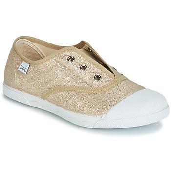 Cipők Lány Rövid szárú edzőcipők Citrouille et Compagnie RIVIALELLE Arany
