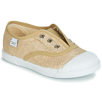 Cipők Lány Rövid szárú edzőcipők Citrouille et Compagnie JANOLIRE Arany