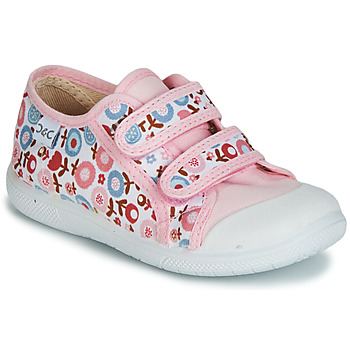 Cipők Lány Rövid szárú edzőcipők Citrouille et Compagnie JORIPALE Rózsaszín / Piros