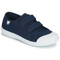 Cipők Fiú Rövid szárú edzőcipők Citrouille et Compagnie JODIPADE Tengerész