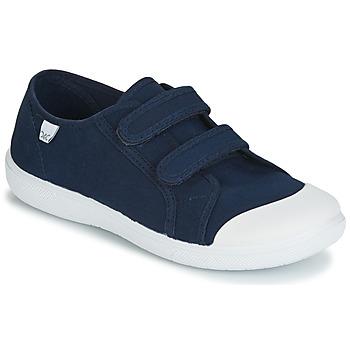 Cipők Gyerek Rövid szárú edzőcipők Citrouille et Compagnie JODIPADE Tengerész