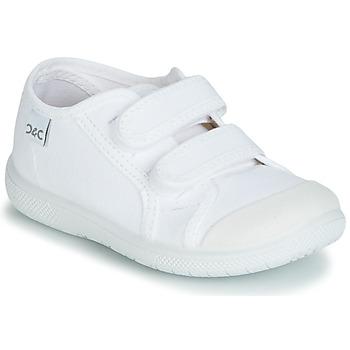 Cipők Gyerek Rövid szárú edzőcipők Citrouille et Compagnie JODIPADE Fehér