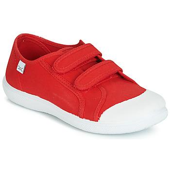 Cipők Gyerek Rövid szárú edzőcipők Citrouille et Compagnie JODIPADE Piros