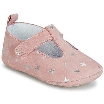 Cipők Lány Mamuszok Citrouille et Compagnie JARI Rózsaszín