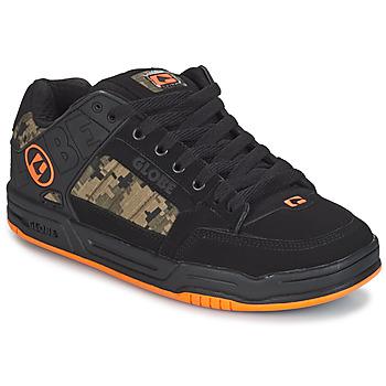 Cipők Férfi Rövid szárú edzőcipők Globe TILT Fekete  / Narancssárga