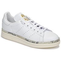 Cipők Női Rövid szárú edzőcipők adidas Originals STAN SMITH NEW BOLD Fehér