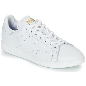 Cipők Női Rövid szárú edzőcipők adidas Originals STAN SMITH W Fehér