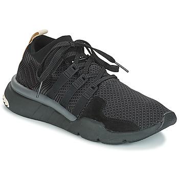 Cipők Férfi Rövid szárú edzőcipők adidas Originals EQT SUPPORT MID ADV Fekete