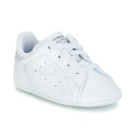 Cipők Lány Rövid szárú edzőcipők adidas Originals STAN SMITH CRIB Fehér