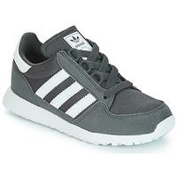 Cipők Gyerek Rövid szárú edzőcipők adidas Originals OREGON Szürke