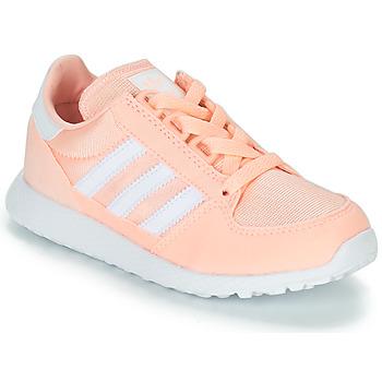 Cipők Lány Rövid szárú edzőcipők adidas Originals OREGON Rózsaszín