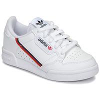 Cipők Gyerek Rövid szárú edzőcipők adidas Originals CONTINENTAL 80 C Fehér