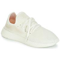 Cipők Rövid szárú edzőcipők adidas Originals DEERUPT RUNNER Fehér