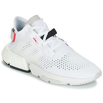 Cipők Férfi Rövid szárú edzőcipők adidas Originals P.O.D Fehér