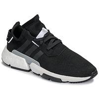 Cipők Férfi Rövid szárú edzőcipők adidas Originals P.O.D Fekete
