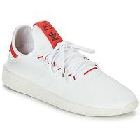 Cipők Rövid szárú edzőcipők adidas Originals PW TENNIS HU Fehér / Piros