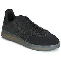 Cipők Férfi Rövid szárú edzőcipők adidas Originals SAMBA RM Fekete