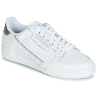 Cipők Női Rövid szárú edzőcipők adidas Originals CONTINENTAL 80s Fehér / Ezüst
