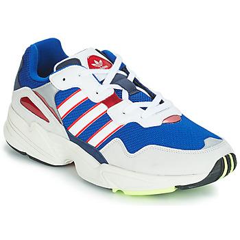 Cipők Férfi Rövid szárú edzőcipők adidas Originals YUNG 96 Fehér / Lila