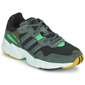 Cipők Férfi Rövid szárú edzőcipők adidas Originals YUNG 96 Szürke / Zöld