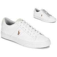 Cipők Férfi Rövid szárú edzőcipők Polo Ralph Lauren SAYER Fehér