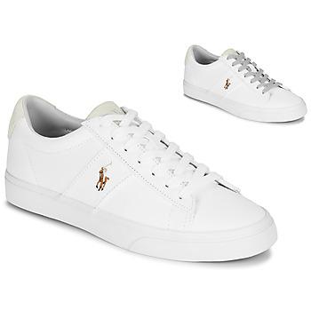 bf419a4793 Cipők Férfi Rövid szárú edzőcipők Polo Ralph Lauren SAYER Fehér