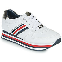 Cipők Női Rövid szárú edzőcipők Tom Tailor 6995501-WHITE Fehér