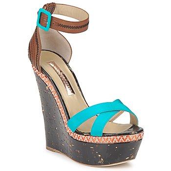 Cipők Női Szandálok / Saruk Rupert Sanderson NISSA Kék