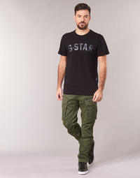 Ruhák Férfi Oldalzsebes nadrágok G-Star Raw ROVIC ZIP 3D STRAIGHT TAPERED Keki