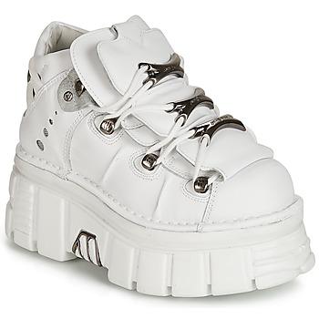 Cipők Rövid szárú edzőcipők New Rock ROCKY Fehér
