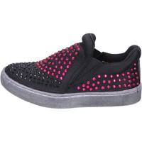 Cipők Lány Belebújós cipők Lulu BT332 Fekete