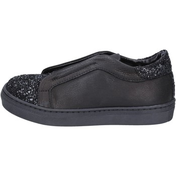 Cipők Lány Belebújós cipők Holalà BT357 Fekete