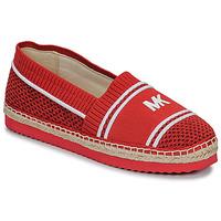 Cipők Női Gyékény talpú cipők MICHAEL Michael Kors RAYA Piros