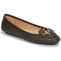 Cipők Női Balerina cipők  MICHAEL Michael Kors LILLIE MOC Barna