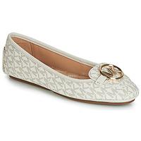 Cipők Női Balerina cipők  MICHAEL Michael Kors LILLIE MOC Bézs
