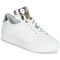 Cipők Női Rövid szárú edzőcipők MICHAEL Michael Kors MINDY Fehér