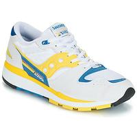 Cipők Férfi Rövid szárú edzőcipők Saucony Azura Fehér / Citromsárga / Kék