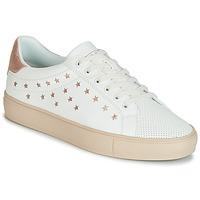 Cipők Női Rövid szárú edzőcipők Esprit Colette Star LU Fehér / Rózsaszín / Arany