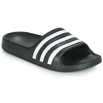 Cipők Gyerek strandpapucsok adidas Originals ADILETTE AQUA K Fekete  / Fehér