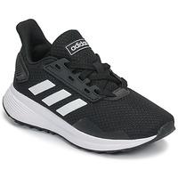Cipők Gyerek Futócipők adidas Performance DURAMO 9 K Fekete  / Fehér
