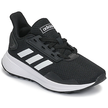 Cipők Gyerek Futócipők adidas Originals DURAMO 9 K Fekete  / Fehér