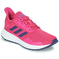Cipők Gyerek Rövid szárú edzőcipők adidas Performance DURAMO 9 K Rózsaszín