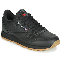 Cipők Rövid szárú edzőcipők Reebok Classic CL LTHR Fekete
