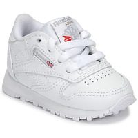 Cipők Gyerek Rövid szárú edzőcipők Reebok Classic CLASSIC LEATHER Fehér