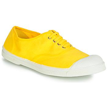 Cipők Női Rövid szárú edzőcipők Bensimon TENNIS LACETS Citromsárga
