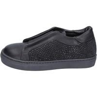 Cipők Lány Belebújós cipők Holalà BT374 Fekete