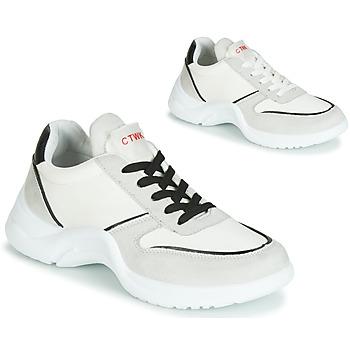 Cipők Női Rövid szárú edzőcipők Chattawak ASTRAGALE Fehér