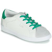 Cipők Női Rövid szárú edzőcipők LPB Shoes ABIGAELE Fehér