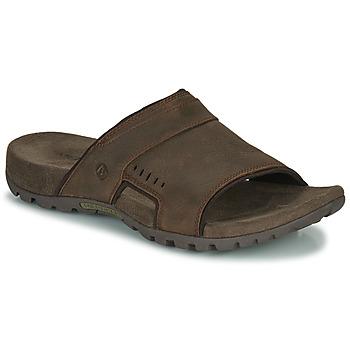Cipők Férfi Papucsok Merrell SANDSPUR LEE SLIDE Barna
