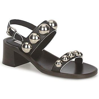 Cipők Női Szandálok / Saruk Marc Jacobs MJ18184 Fekete
